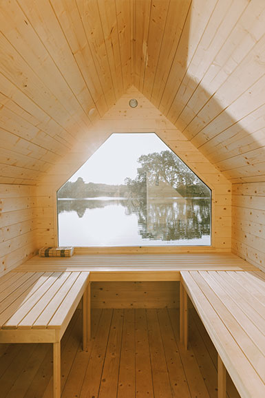 lago sauna fdomes